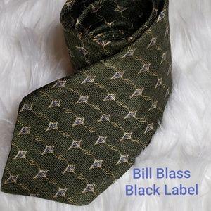 Bill Blass Black Label Mens Silk Tie
